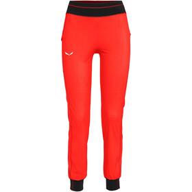 SALEWA Puez Train Trek Dry Pants Women, czerwony/czarny